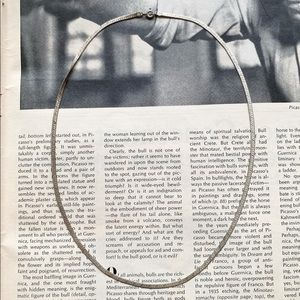 Vintage Sterling Silver Chain Necklace
